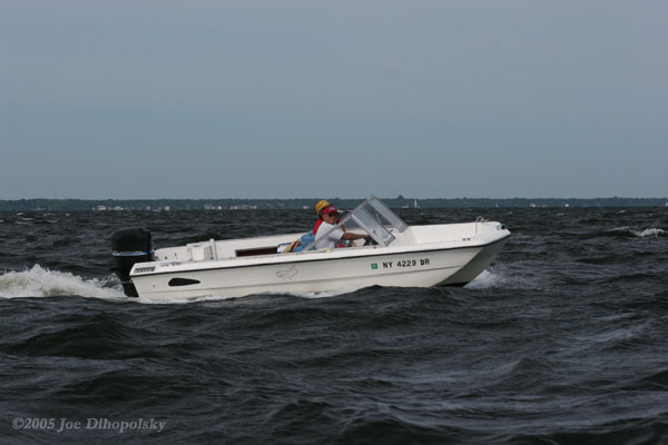 White Runabout